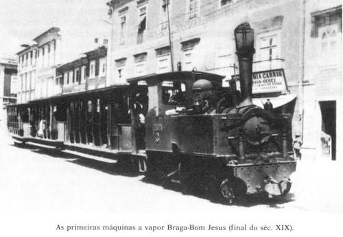 Eléctrico a Vapor em Braga