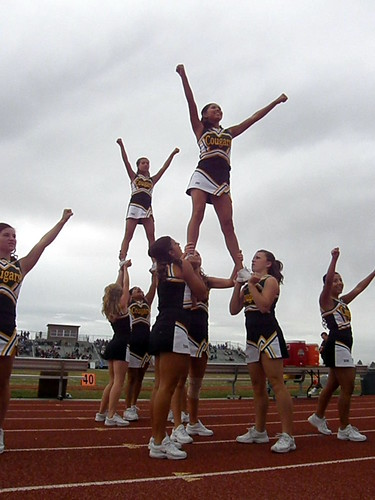 Cheerleader Stunt