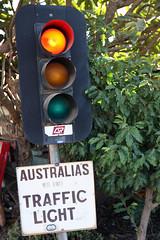 Australia's most remote traffic light