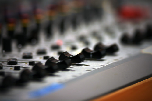 What is a mixing board console