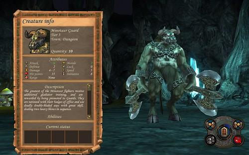 Dungeon Minotaur Guard