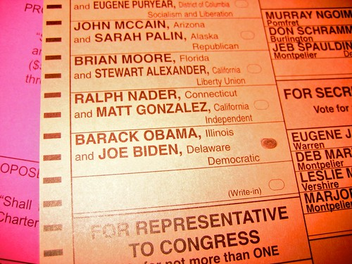 ballots cast
