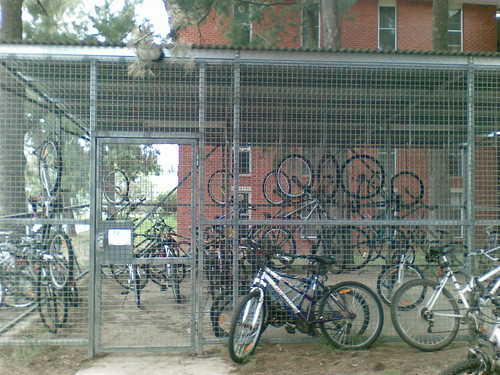 B&G Hall bike shed