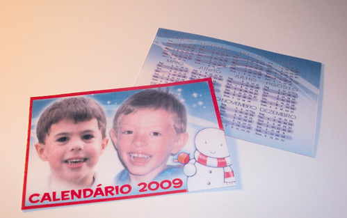Calendários BOLSO 2009