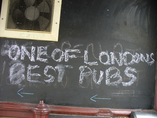 One Of London's Best Pubs
