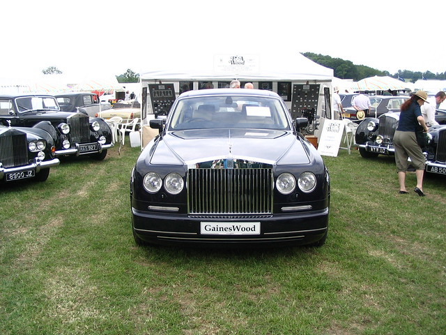 Rolls Royce Phantom Saloon modified for Gaines Cooper