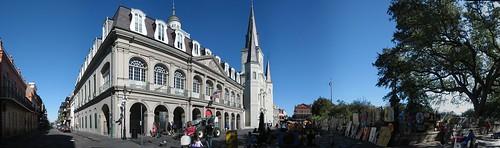 Jackson square panorama
