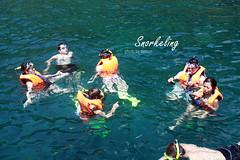 Snorkeling in diu… man