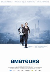 Póster y trailer de 'Amateurs'