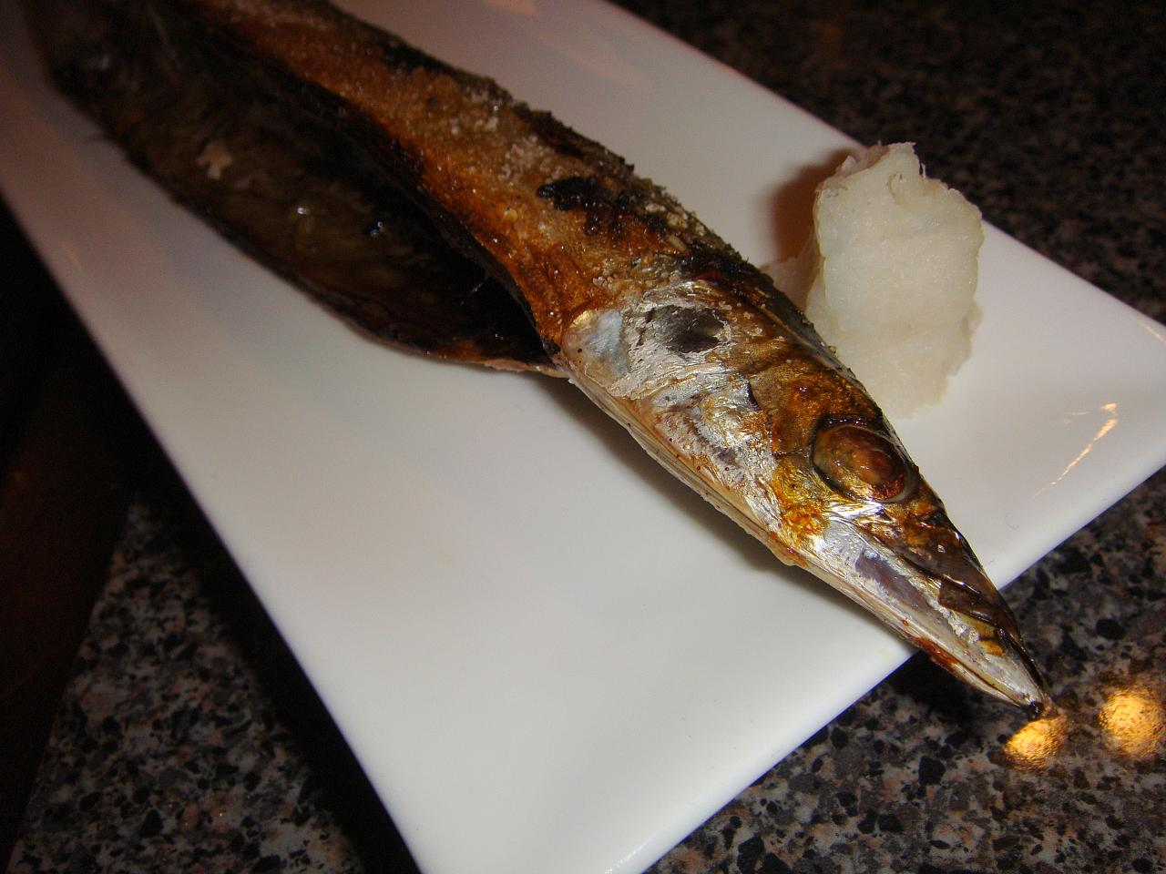 Broiled Sanma (Mackerel Pike)