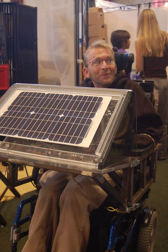 GreenFestival_Solar Powered Super Wheelchair!