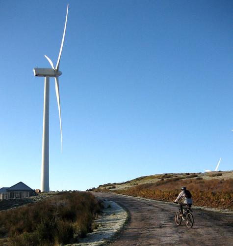 Busbie windfarm 30Nov08