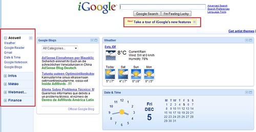 Google met également à jour iGoogle