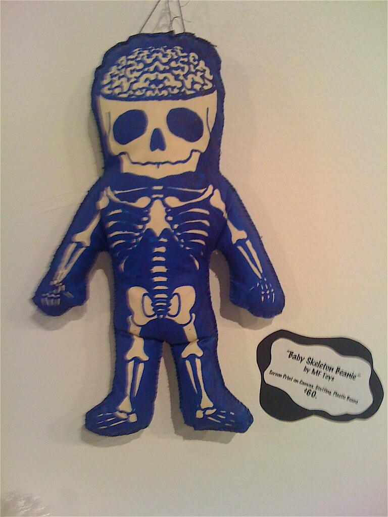 Baby Skeleton Beanie