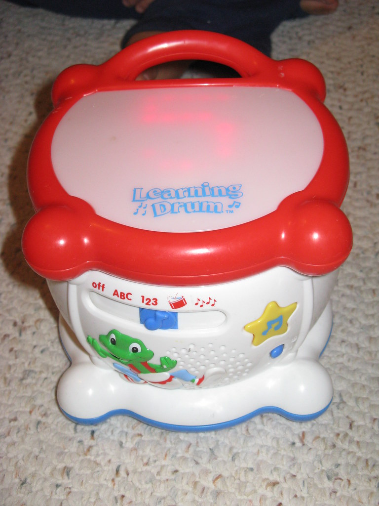 LeapFrog Learning Drum $15