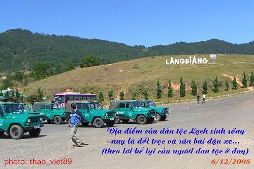 4278 Tram dau xe duoi' dinh LAngBiAng by you.