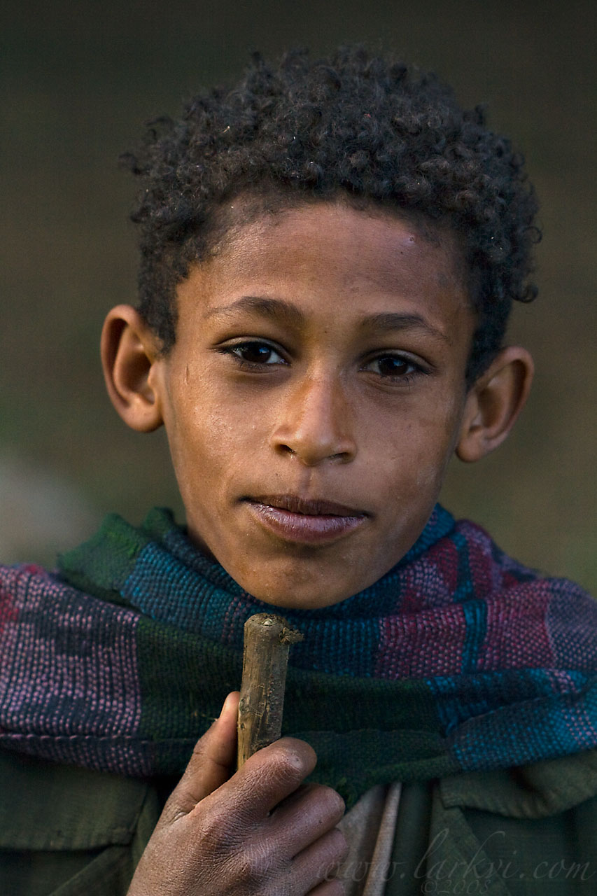 Child, Gojam, Ethiopia, November 2008
