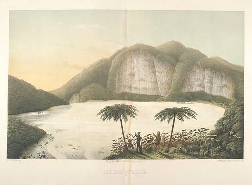 Java seine Gestalt, Pflanzendecke und innere Bauart 1857 (Junghuhn) Kawah-Patua