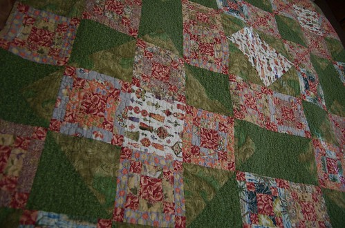 Asian Springtime quilt
