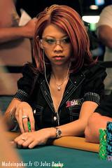 wsop 08 - event 2 (Liz Lieu) Tags: liz lasvegas tournament lieu lizlieu pokerdiva nolimitholdem propokerplayer theriohotelandcasino chilipokercom