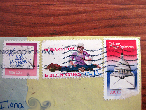 KILLER letter-themed stamps!!