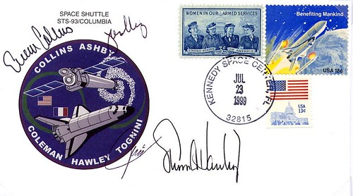 STS-93 / COLLINS ASHBY COLEMAN HAWLEY TOGNINI / COLUMBIA