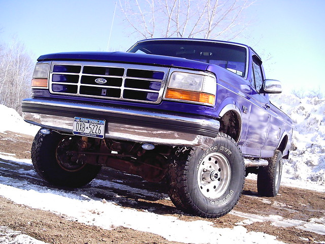 ford f150 1995 lifted 351 33s