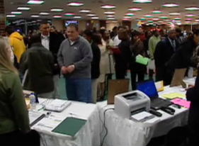 Job Fair Frame Grab