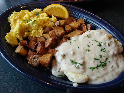 Biscuits and Gravy from Hot Suppa