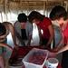 Slicing and Dicing in Yaxuna (Cuttingveggies-Yaxunah)  - Mexico Study Abroad