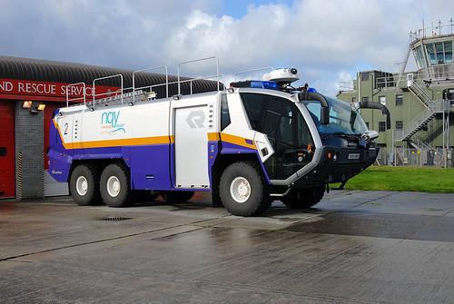 Newquay Airport: 'Rosenbauer Panther' Crash Truck