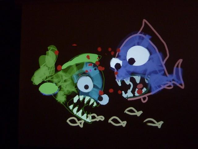 Yvette's piranhas