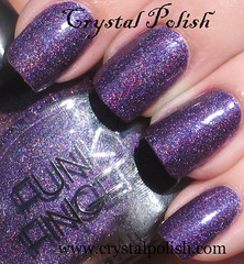 Funky Fingers Kenyan Sunset (CrystalPolish) Tags: purple shimmer holo kenyansunset funkyfingers