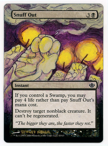 snuff out alterd
