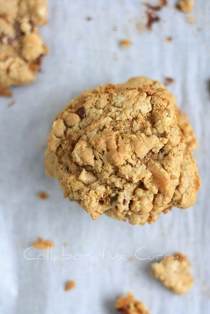 Whole wheat Falxmeal chocolate chip cookies