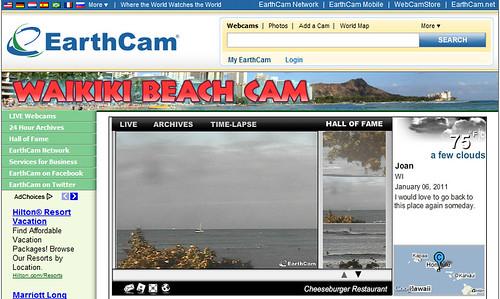 Waikiki Beach Cam