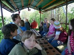 Planwagenfahrt Osterferien 2011