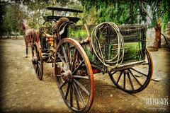 how the west was won (Kris Kros) Tags: california ca horse west history wheel photoshop photography was coach high nikon cowboy dof carriage dynamic historic depthoffield socal western kris how d200 cart 2008 range won hdr kkg 3xp photomatix kros kriskros kk2k kkgallery