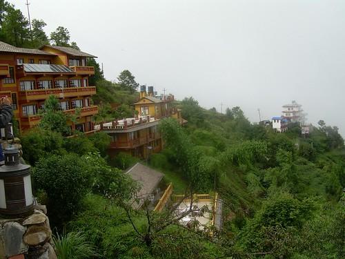 Ascendiendo a Nagarkot