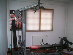 Bow flex with extra power rods and attatchments (virtual yard sale Bucharest) Tags: home bow flex gym
