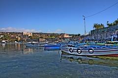 Catania - Porto di Ognina (HDR) (-Bandw-) Tags: city wallpaper sky panorama clouds digital canon landscape boats eos rebel boat high barca italia barche sicily bandw range hdr catania sicilia citt xsi trinacria sicile sizilien dinamic sicili 3xp photomatix siclia tonemapped ognina  barcheboats 450d canoneos450d canonefs1855mmf3556is digitalrebelxsi bandwit wwwbandwit canoneos450ditalia  siciliainhdr
