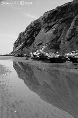 Dilemma (sirixception) Tags: cotedopale frankrijk france capblancnez escalles beach zee sea water reflectie reflection europe bw zwartwit zw blackwhite bwphotoaward colorphotoaward blackwhitephotos sirixception sirixceptionfotografie