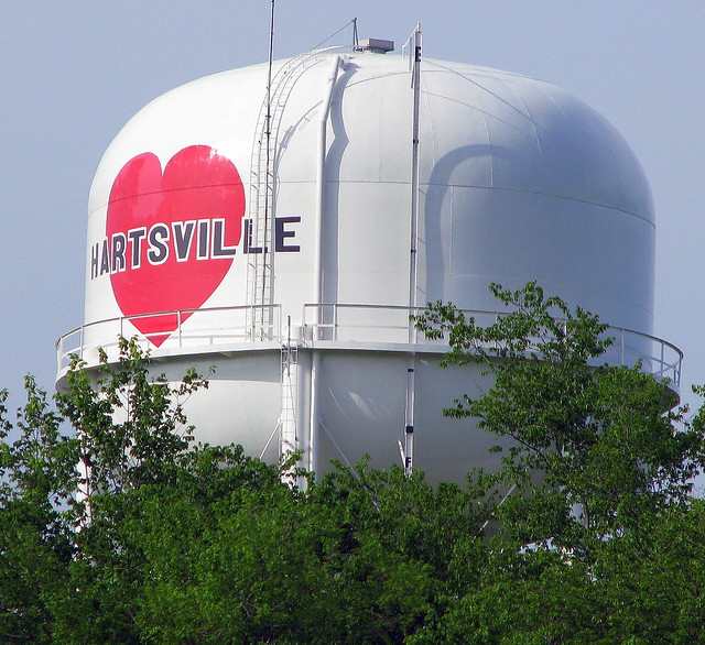 Hartsville, TN water tower