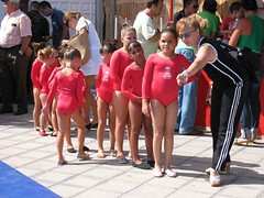 About to go on (John Beckley) Tags: gymnastics tenerife gabriella piedrahincada