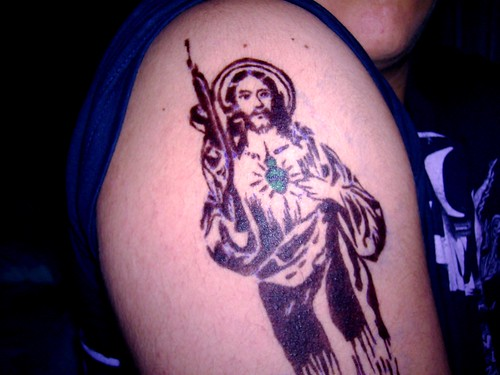 Corazon+de+jesus+tattoo