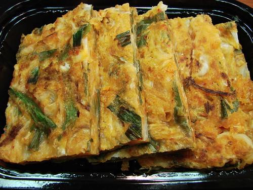 Woorijip's Kimchi Pancakes