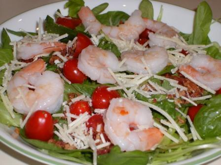 Pantry Challenge: Shrimp Salad
