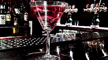 Bar tips in red cordial