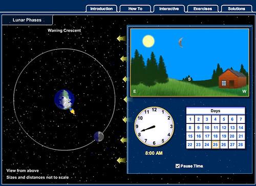 Phases of the moon interactive ( http://highered.mcgraw-hill.com/sites/007299181x/student_view0/chapter2/lunar_phases_interactive.html )