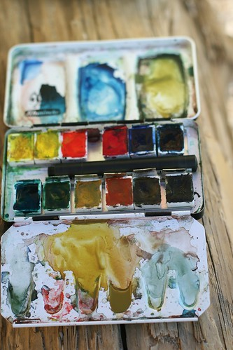 Kirsten's paint box